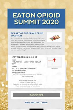 Eaton Opioid Summit 2020