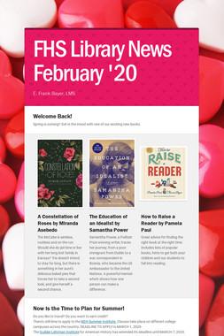 FHS  Library News  February '20