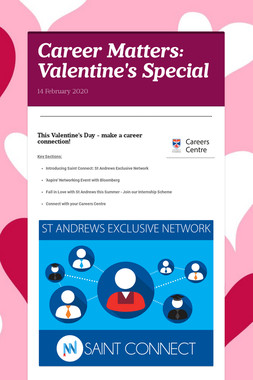 Career Matters: Valentine's Special