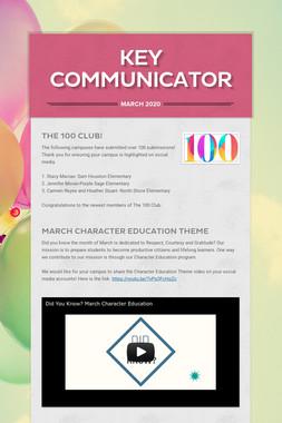 Key Communicator