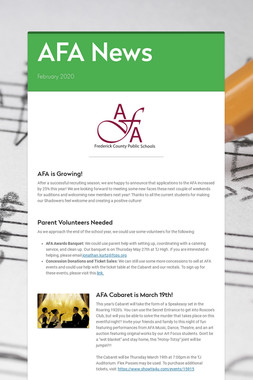 AFA News
