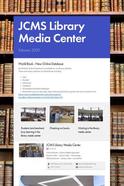 JCMS Library Media Center