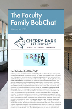 The Faculty Family BobChat