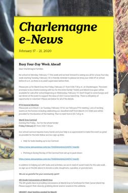 Charlemagne e-News