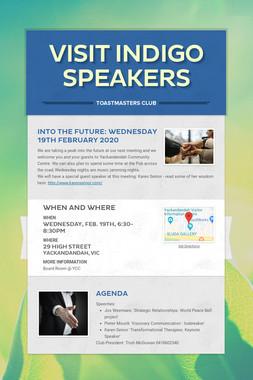 Visit Indigo Speakers