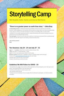 Storytelling Camp