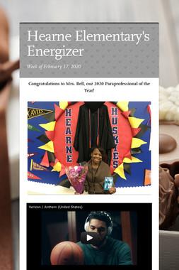 Hearne Elementary's Energizer