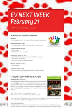 EV NEXT WEEK - February 21