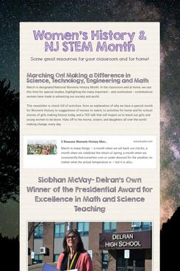 Women's History & NJ STEM Month