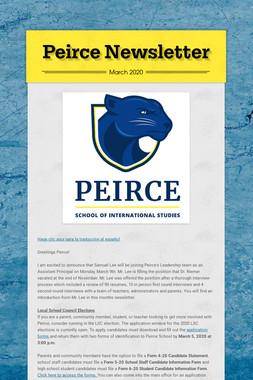 Peirce Newsletter