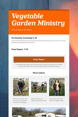 Vegetable Garden Ministry
