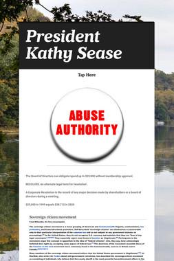 President Kathy Sease