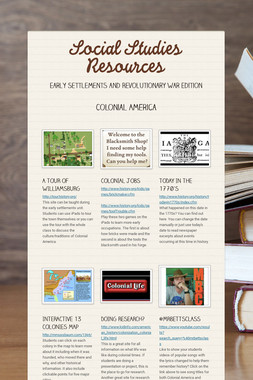 Social Studies Resources