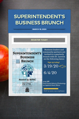 Superintendent's Business Brunch