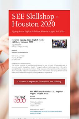 SEE Skillshop - Houston 2020