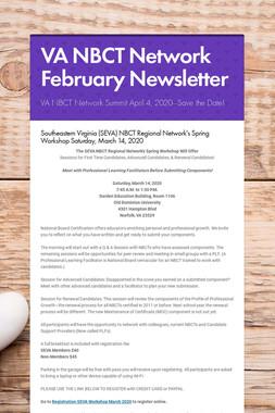 VA NBCT Network February Newsletter