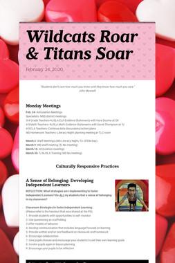 Wildcats Roar & Titans Soar