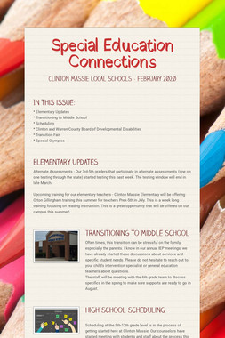 Special Education Connections