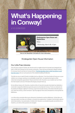 What's Happening in Conway!