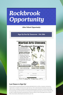 Rockbrook Opportunity