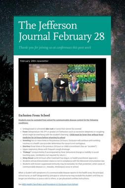 The Jefferson Journal February 28