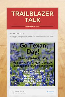 Trailblazer Talk