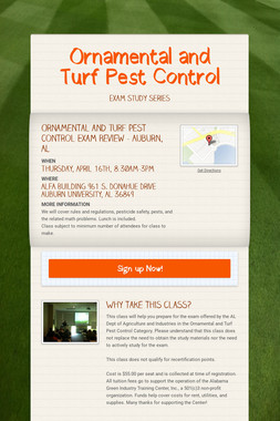 Ornamental and Turf Pest Control