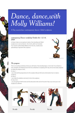 Dance, dance,with Molly Williams!