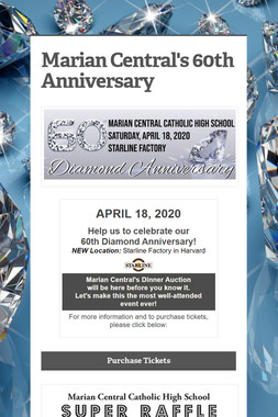 Marian Central's 60th Anniversary