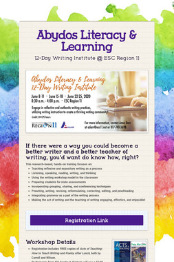 Abydos Literacy & Learning
