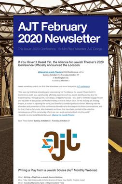 AJT  February Newsletter