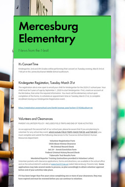 Mercesburg Elementary
