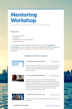 Mentoring Workshop