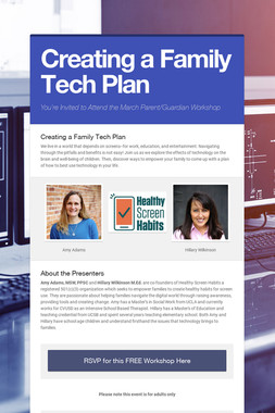 Creating a Family Tech Plan