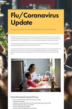 Flu/Coronavirus Update