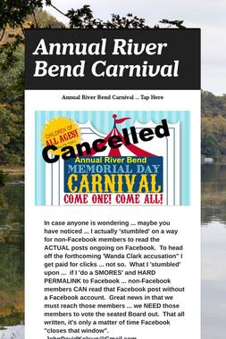 Annual River Bend Carnival