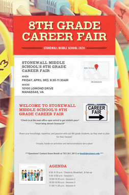 8th Grade Career Fair