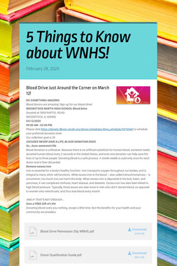 5 Things to Know about WNHS!