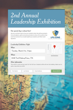 2nd Annual Leadership Exhibition