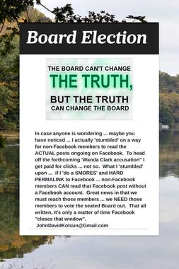 Board Election