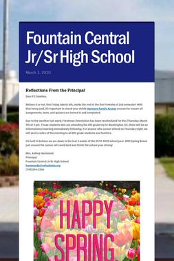 Fountain Central Jr/Sr High School