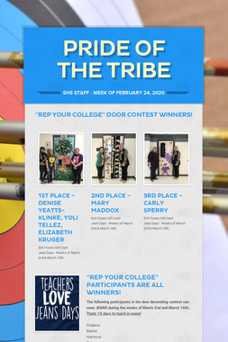 PRIDE OF THE TRIBE