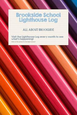 Brookside School Lighthouse Log