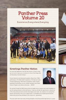 Panther Press Volume 20