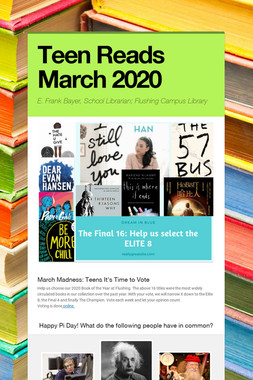 Teen Reads March 2020