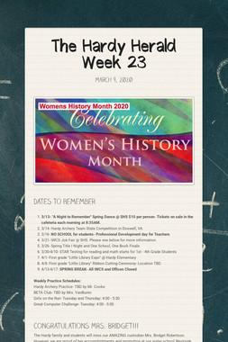 The Hardy Herald Week 23