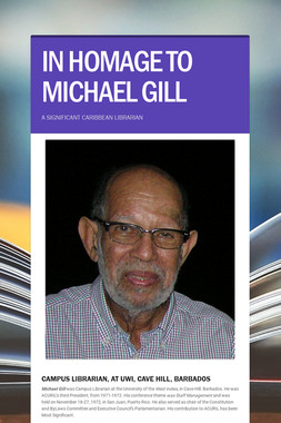 IN  HOMAGE  TO  MICHAEL  GILL