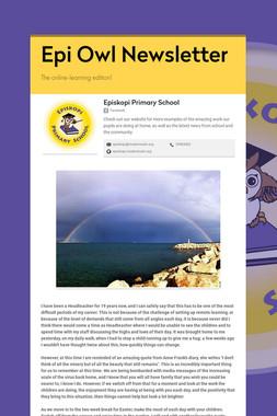 Epi Owl Newsletter