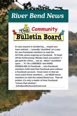River Bend News