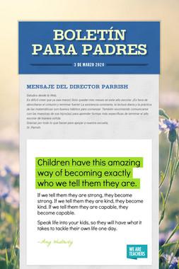 Boletín para Padres